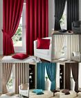 FULLY LINED PENCIL PLEAT MADISON CURTAINS WITH SMALL PATTERN,WITH FREE TIE BACKS