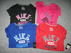 NIKE Women's T-Shirts,100% cotton,Crew Neck, Short Sleeve, all Sizes, NWT