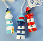 Nautical Theme Lighthouse Light Pull