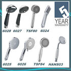 High Quality Chrome Shower Head Handsets Single Mode & Multi Function