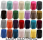 NEW WOMENS LONG SLEEVE POCKET BOYFRIEND CARDIGAN TOP-ALL COLOURS-SIZE 8,10,12,14