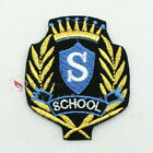 SCHOOL Badges Sew/Iron On Patch 58mm S0542