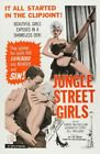 JUNGLE STREET GIRLS 01 VINTAGE B-MOVIE REPRODUCTION ART PRINT A4 A3 A2 A1