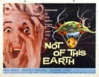 NOT OF THIS EARTH 02 VINTAGE B-MOVIE REPRODUCTION ART PRINT A4 A3 A2 A1