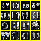 30 Curtain track gliders glide hooks runners pole slides - Multi design listing