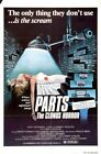 PARTS CLONUS HORROR 01 VINTAGE B-MOVIE REPRODUCTION ART PRINT CANVAS A4 A3 A2 A1