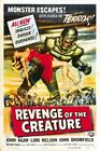 REVENGE OF THE CREATURE 01 B-MOVIE REPRODUCTION ART PRINT A4 A3 A2 A1