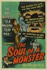THE SOUL OF A MONSTER 01 B-MOVIE REPRODUCTION ART PRINT CANVAS A4 A3 A2 A1