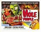 THE MOLE PEOPLE 2 B-MOVIE REPRODUCTION ART PRINT A4 A3 A2 A1