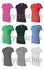 Bella Ladies NEW S-XL 2XL Short Sleeve Ladies Triblend T-Shirt Womens Tee 8413