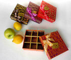 "Valentine Gift Box 9 CELLS for chocolates/Sweets 12x12cm = 4.75""x4.75"" AH054c05"