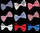 Large FABRIC BOW wedding decoration for band/clip/hair/sash/dickie bow tie