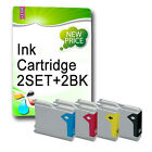 10 NON-OEM Ink Cartridges REPLACE For LC900 LC985 LC1000 LC1100 LC1240 LC1280