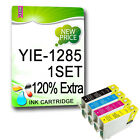 4 NON-OEM Printer ink cartridges REPLACE FOR T1281-T1285 & T1291-T1295 Model