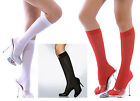 Mi-Bas Nylon opaque - Noir Blanc Rouge - Collants Pantyhose Stockings Calze