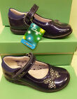 "Clarks Infant Girls Purple Flashing Lights Shoes ""TRIXI DAZZLE"" F&G-Fitting"