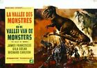 Valley Of Gwangi 05 B-MOVIE POSTER REPRODUCTION PRINT A4 A3 A2 A1