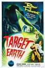 TARGET EARTH 01 VINTAGE B-MOVIE REPRODUCTION ART PRINT A4 A3 A2 A1
