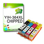 HP 364 XL NON-OEM INK CARTRIDGE WITH CHIP REPLACE FOR D5460 C5324 C309A B8550