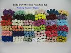 3cm Artificial MINI FOAM ROSE BUDS  All colours  Bridal. Corsage. x 8 per bunch