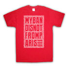 MY BAND IS NOT FROM PARIS FASHION IRONIC SLOGAN KIDS T SHIRT ALL SIZE & COL