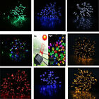 60/100 Solar LED Fairy Light String Christimas Party Wedding Garden Decor Xmas