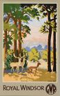 GWR Royal Windsor Great Park Railway  Poster A3 Print