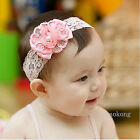 FREE SHIP 1pc Cute Baby Girl Kid Flower Headband Hair Accessory   0075d HOT New
