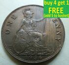 King George V One Penny Choice 1911-1936 Pick Your Own; Free P+P UK