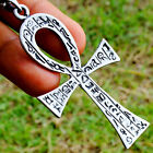 Ankh Egyptian cross of life Pagan Paganism Wicca Occult Pendant Brass Pewter