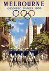 Melbourne Olympic Games, 1956. Australia. Vintage Travel poster,James Northfield
