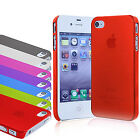 For Apple iPhone 4S 4 Ultra Slim Thin Transparent Mobile Phone Case Cover Shell