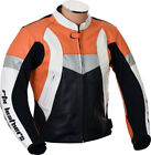 MotoGP Fireblade KTM Repsol Orange Motorcycle Pro Biker Leather Jacket ANY SIZE