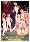 Golden Fleece. Australian Vintage Advertisment Poster print by James Northfield