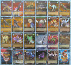 Dinosaur King TCG Choose 1 Dinotector Showdown Gold or Colossal Rare Foil Card
