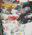 Handmade Totes Muscle Car Drive In Service Station Route 66 El Camino Cotton
