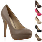 Traum Plateau High Heels Damen Pumps 93615 Schuhe 35-41 New Look