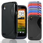 NEW S Line Series Soft Silicone Gel Case Cover FOR HTC Desire X
