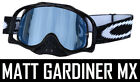 MIRRORED LENS to fit OAKLEY CROWBAR MX GOGGLES tear off Silver Gold Blue Orange