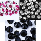 1000Pcs Pointed Back Resin Rhinestone Loose Beads For Jewelry Making Decorations