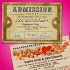 Personalised Engagement Party Invitations Invites E22