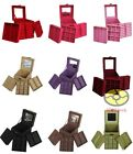 Square Jewelry Storage Organizer Box Case For Ring Necklace Earring Pendant JD14