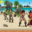 Pirate Party Complete Scene Setter Decoration Backdrop & Props PA