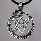 Thelema Ouroboros Uroborus Dragon Serpent Unicursal Hexagram Star Pewter Pendant