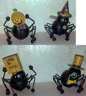 Halloween Spiders--Metal Spiders with Different Hats, you Choose!