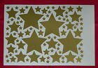 Mixed Stars, Self Adhesive Sticky Stickers Labels, Lots of colours available!