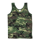 ARMY VEST COMBAT MEN TANK TOP MILITARY US CAMOUFLAGE FANCY DRESS SLEEVELESS CAMO