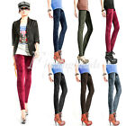 HOT Fashion Women Sexy Pleuche Celeb Velvet Soft Girl Leggings Slim