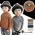 2017 Spring Autumn Boy Girl baby child Kids Mouse High Neck Collar T-Shirt 2-7Y