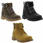 Caterpillar Boots Willow Womens Casual Leather Boots Ladies Size UK 3-8